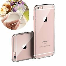 Ultra Thin Hard Clear Back Crystal Case Cover For Apple iPhone 4 4s 5s 6 6s Plus