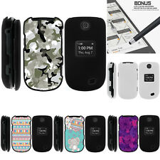 For LG Revere 3 VN170 Case Hard Snap On 2 Piece Slim Shell Swamp Camouflage