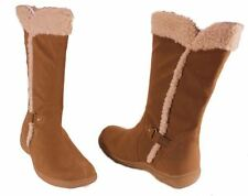 Karen Scott Gaby Womens Hickory Mid-Calf Fleece Winter Boots