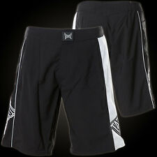 New! Tapout Men's Mixed Martial Arts MMA Shorts - Black & White -  UFC MMA RARE