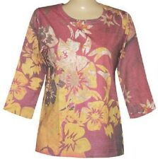 3/4 Sleeves Sunkissed Flower sublimation Scoopneck Top size S-M-L-XL-1X-2X-3X