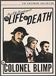 The Life and Death of Colonel Blimp (1943, Criterion Collection DVD) BRAND NEW!