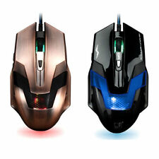 2000DPI Cool Adjustable 6 Buttons USB Wheel LED Optical Wired Gaming Mice Mouse