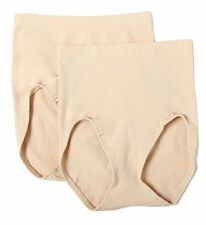 Bali X204 Seamless Firm Control Brief Panty - 2 Pack