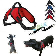 Durable Car Vehicle Safety Seat Belt Restraint Harness Saddle Style For Dog Pet