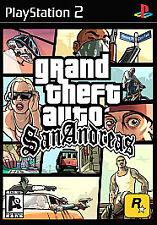 "Grand Theft Auto: San Andreas ""AO"" Version (Sony PlayStation 2, 2004) New Sealed"