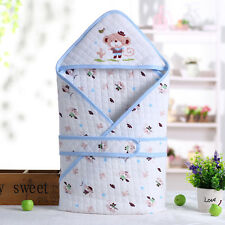 Cotton Soft Baby Infant Swaddle Baby Wrap Swaddling Blanket Newborn 0-14 Month