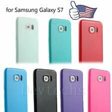 Ultra Thin Rubber Gel Soft TPU Shockproof Skin Case Cover for Samsung Galaxy S7