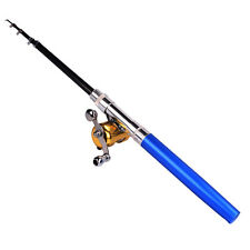 Pen Fishing Rod Pocket Travel Fishing Tackle Fishing Pole and Reel Combo Kits