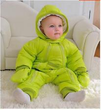 Baby Coverall clothing thick warm winter clothe newborn climbing clothing Romper
