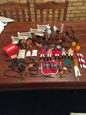 Julip Model toy horses riders tack rugs accessories jumps bundle/lot