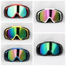 Off-Road Snowboard Snowmobile Ski Goggles Sunglasses Sports Glasses Colors Lens