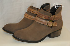NEW Women's Boots Steve Madden Raskal Leather Ankle Boot Size 6.5, 9.5 MRSP $129