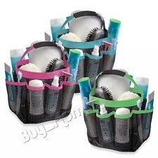 New Portable Mesh Shower Caddy Organizer Storage Basket Travel Tote Bath Gym Bag