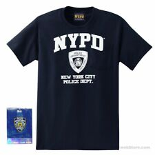 Navy NYPD T-Shirt, Adult Sizes, NYPD Shirt Official NYC Souvenir, Pre-Shrunk
