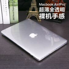 """Hard Case Shell +Rubberized Keyboard Cover for Macbook Pro 13/15"""" Air 11/13"""" 12"""