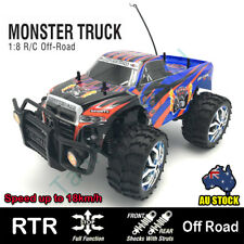 1/8 Remote Control Monster Truck RC Car RTR Off Road Truggy Buggy LED Lights NEW