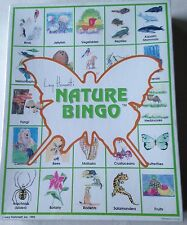 New In Sealed Box Lucy Hammett's Nature Bingo Educational Game - Ages 3+