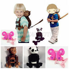 New Child Baby Kid Keeper Toddler Walking Safety Harness Backpack Bag Strap Rein