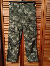 New w/tag Cherokee Boys Camouflage Cargo Camo Pants Size NWT green army