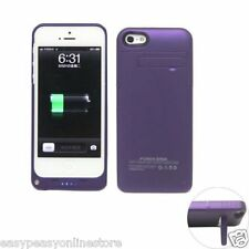 New 2200 mAh Power Bank Charger Case for Iphone 5 5s SE Mobile phones iOS10