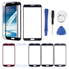 Outer Glass Front LCD Screen Lens Cover + Tools For Samsung Galaxy Phones Repair