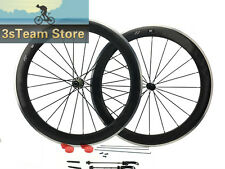 Alloy Brake Surface Carbon Dimple Bicycles Road Wheel 60mm Clincher 23mm 700C