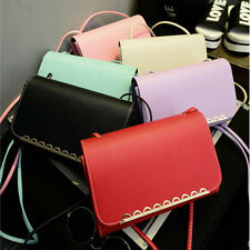 Fashion Women Girl Shoulder Bag Faux Leather Satchel Crossbody Tote Handbag