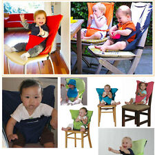 Portable Baby Seat Child High Chair Baby Infant Seat Safety Belt Seat High Stool