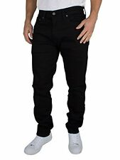 Mens Levis 512 0013 Slim Tapered Fit Nightshine Stretch Jeans Black