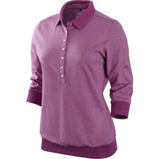NEW Womens Nike Golf Tour Performance Slim-Fit 3/4 Sleeve Dri-Fit Polo MSRP $100