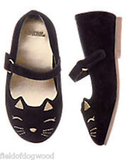 NWT GYMBOREE Catastic Kitty Shoes Flats cat Toddler Girls SZ 4 5