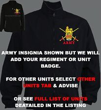 UNIT 0-A BLACK MILITARY ARMY RAF ROYAL NAVY FOREIGN LEGION TRAINING JACKET