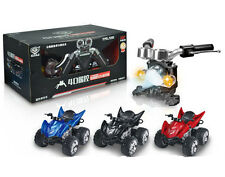 4D Simulation Remote Control Motorcycle Kid Toy 1:12 ATV 2.4G R/C Rechargeable