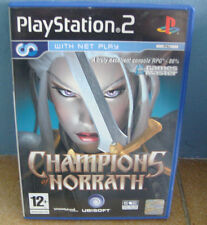 ps2 CHAMPIONS OF NORRATH An Action RPG Adventure Playstation PAL