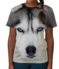 Siberian Husky Dog Breed Cute Animal Lover Girls Unisex Kids Child T Shirt