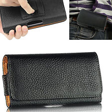 Leather Belt Clip Pouch Case Cover Holster For Apple iPhone 7 Plus, 7, 6 & iPods