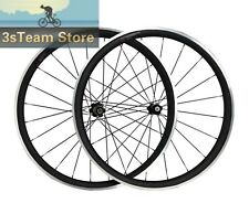 700C 38mm Alloy Brake Carbon Wheels Clincher Aluminum Road Bike Wheelset