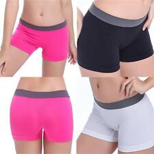 Summer Pants Women Sports Shorts Gym Workout Waistband Skinny Yoga Shorts Girl