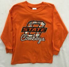 Oklahoma State Cowboys NCAA Youth Girls  Long Sleeve T-Shirt - NWT