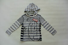 Brand New Without Tag BNWOT Desigual Boys Classic Hooded T-Shirt Size 4Yrs