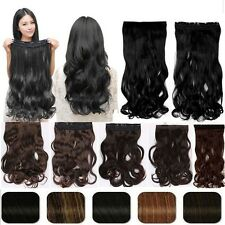 100% Natural ,17-30 Inch,3/4Full Head Clip In Hair Extensions,As Human Remy H817