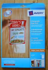 Avery Changeable Sign / signage Slots – 8 Pockets / slots -  221 X 304mm