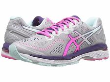 ASICS KAYANO 23 SILVER PINK GLOW D WIDE WOMENS RUNNING SHOES **ALL SIZES &WIDTHS