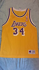 very rare LA LAKERS #34 O'NEILL SHAQ Lady's Jersey Size: L VERY GOOD Condition