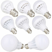 LED E27 Energy Saving Bulb Light 3W 5W 7W 9W 12W 15W 20W Globe Lamp 110V To 240V