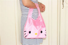 Hellokitty Shopping Travel Shoulder Bag Pouch Tote Handbag Folding Reusable L897