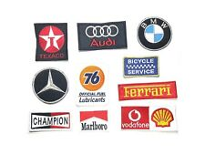 Embroidered Patch Embroidery sew on Logo Mark F1 Racing Motor Badge version 01
