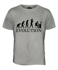 COMPUTER GEEK EVOLUTION OF MAN MENS T-SHIRT TEE TOP GIFT PC PROGRAMMER TEE SHIRT