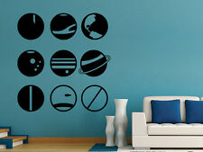 Planets Poster: Space Planets Solar System Decor Universe Astronomy Wall Art
